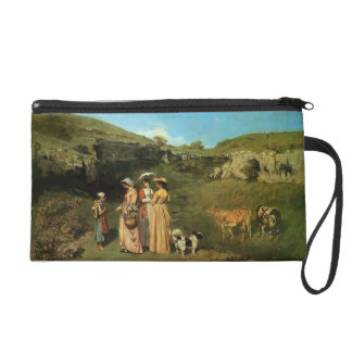 Gustave Courbet- The Village Maidens Wristlets