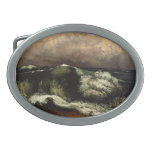 Gustave Courbet- The Wave Belt Buckles