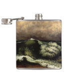Gustave Courbet- The Wave Flask