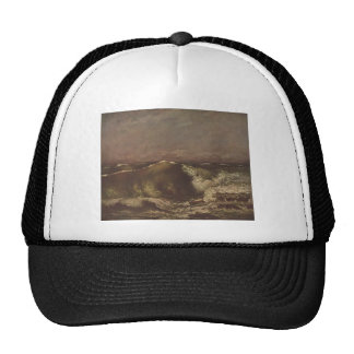 Gustave Courbet- The Wave Trucker Hat