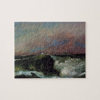 Gustave Courbet- The Wave Jigsaw Puzzles