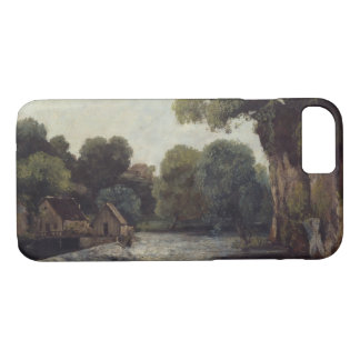 Gustave Courbet - The Weir at the Mill iPhone 8/7 Case