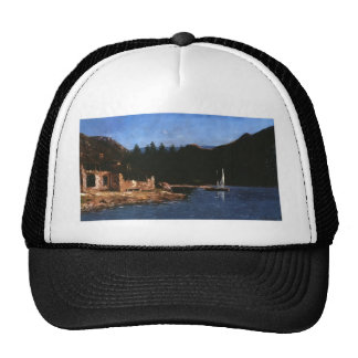 Gustave Courbet- The White Sail Trucker Hat
