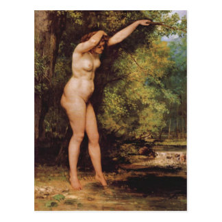 Gustave Courbet - The young bather Postcard