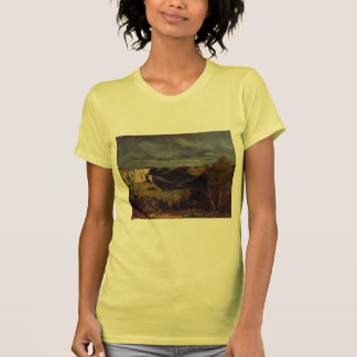 Gustave Courbet- Valley of Loue in Stormy Weather T Shirts