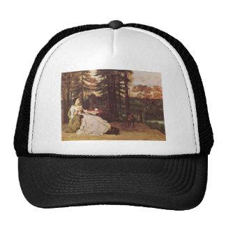 Gustave Courbet- Woman of Frankfurt Trucker Hat