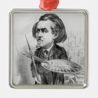 Gustave Dore (1832-83), caricature from 'Le Boulev Metal Ornament