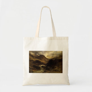 Gustave Dore- A Canyon Canvas Bags