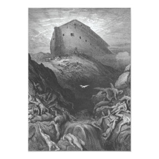 Gustave Doré - A Dove Is Sent Forth from the Ark Card
