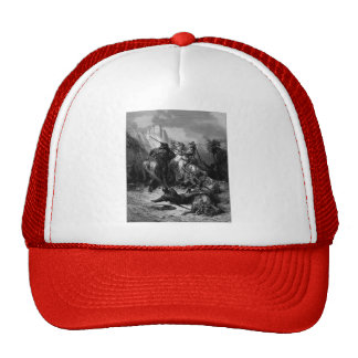 Gustave Dore: A Heroine Florine of Burgundy Trucker Hat