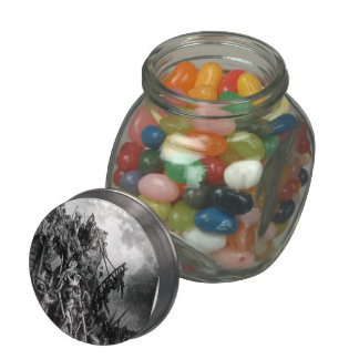 Gustave Dore:Army of Priest Volkmar & Count Emocio Glass Candy Jars