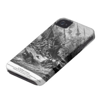 Gustave Dore: Battle of Lepanto in 1571 iPhone 4 Cases