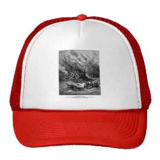 Gustave Dore: Battle of Lepanto in 1571 Trucker Hat