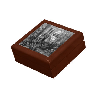Gustave Dore: Crusaders massacre the inhabitants Jewelry Boxes