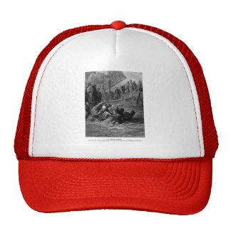Gustave Dore: Death of Almoadam Trucker Hat