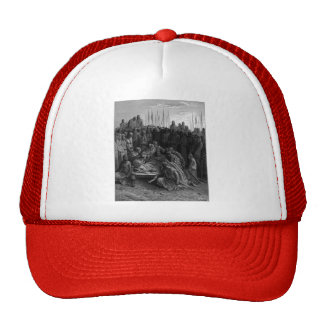 Gustave Dore: Death of Baldwin I the Latin King Trucker Hat