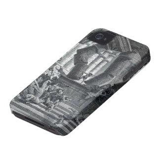 Gustave Dore: Death of Samson iPhone 4 Case-Mate Case