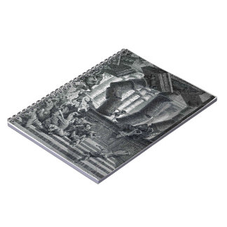 Gustave Dore: Death of Samson Note Books