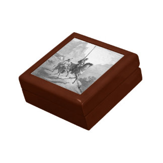 Gustave Dore: Don Quixote and Sancho Setting Out Jewelry Boxes