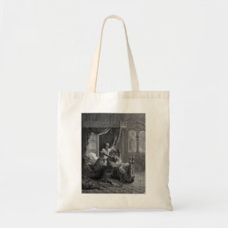 Gustave Dore:Edward I of England kills his wouldbe Tote Bags