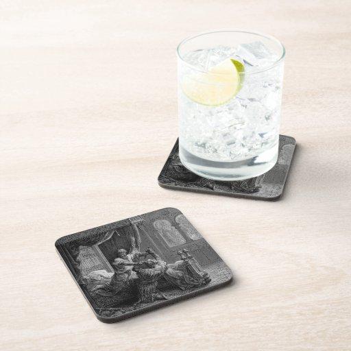 Gustave Dore:Edward I of England kills his wouldbe Beverage Coasters