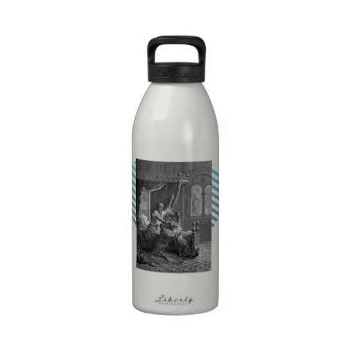 Gustave Dore:Edward I of England kills his wouldbe Reusable Water Bottle