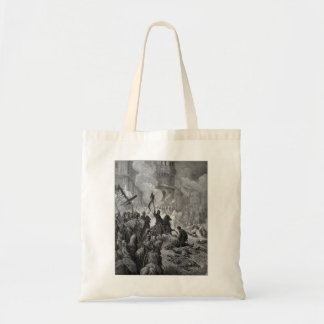 Gustave Dore: Entry of Crusaders in Constantinople Canvas Bag