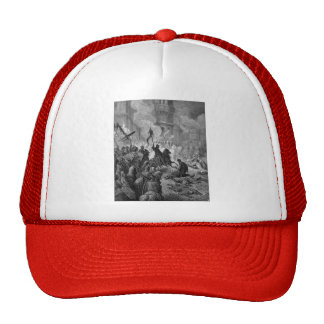 Gustave Dore: Entry of Crusaders in Constantinople Trucker Hat