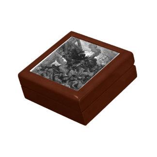 Gustave Dore: Godfrey enters Jerusalem Trinket Box