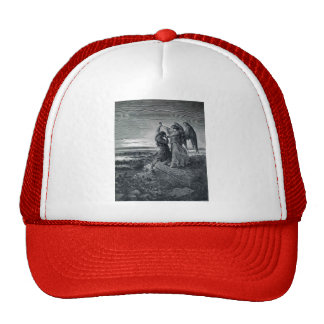 Gustave Dore: Jacob Wrestling with the Angel Trucker Hat