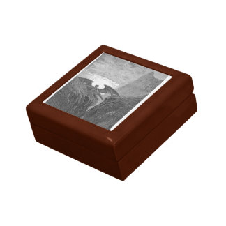 Gustave Dore:'Now Night her Course began..' Jewelry Boxes