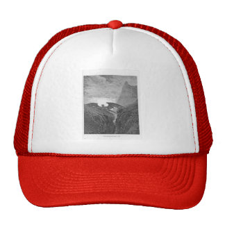 Gustave Dore:'Now Night her Course began..' Trucker Hat