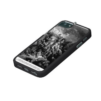 Gustave Dore: Richard I in battle at Arsuf in 1191 iPhone 5/5S Cover