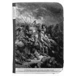 Gustave Dore: Richard I in battle at Arsuf in 1191 Kindle Keyboard Cases