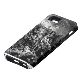 Gustave Dore: Richard I in battle at Arsuf in 1191 iPhone 5 Case