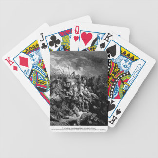 Gustave Dore: Richard I in battle at Arsuf in 1191 Bicycle Poker Cards