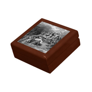 Gustave Dore: Richard I,Lionheart delivering Jaffa Jewelry Boxes
