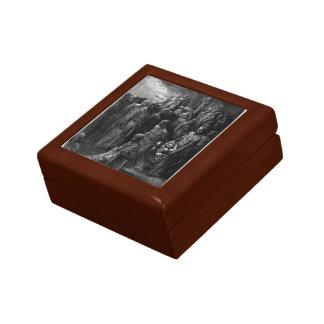 Gustave Dore:Richard I massacres captives Jewelry Boxes