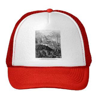 Gustave Dore: Second assault of Jerusalem Trucker Hat