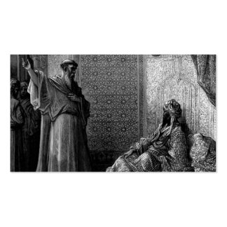 Gustave Dore St Francis of Assisi Business Card