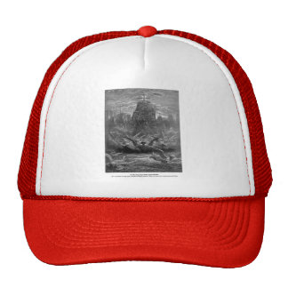 Gustave Dore: St. Louis leaving Aigues-Mortes Trucker Hat
