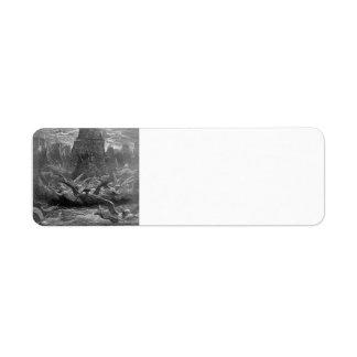 Gustave Dore: St. Louis leaving Aigues-Mortes Labels