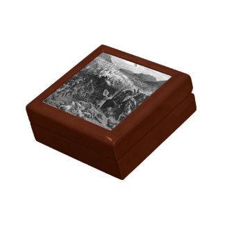 Gustave Dore: The Battle of Nicaea in 1097 Jewelry Box