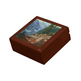 Gustave Dore- The Lost Cow Jewelry Box