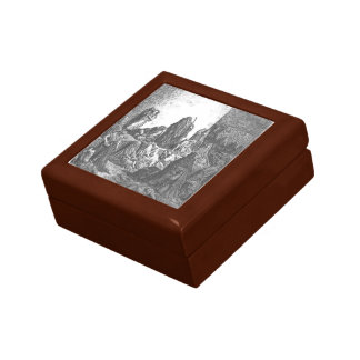 Gustave Dore: The People Mourning Keepsake Box