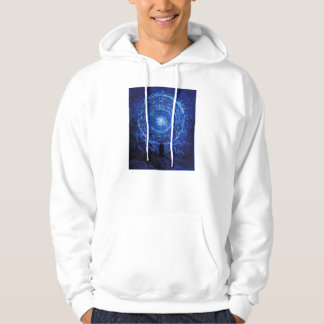 Gustave Dore The White Rose (blue) Hoodie