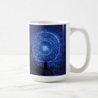 Gustave Dore The White Rose (blue) Mug