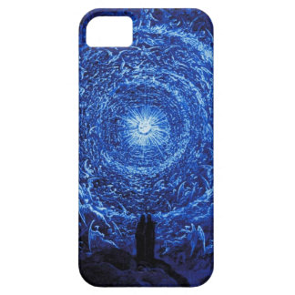 Gustave Dore The White Rose iPhone case (blue) iPhone 5 Cases