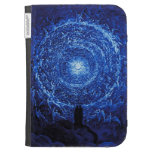 Gustave Dore The White Rose Kindle case (blue)