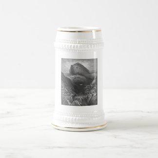 Gustave Doré - una paloma se envía adelante de la  Tazas De Café